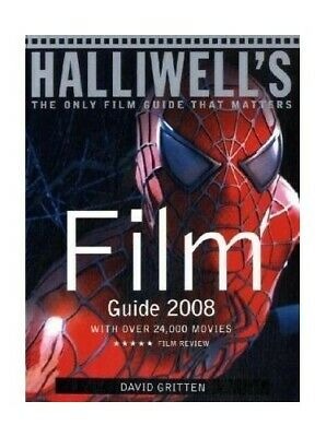 Halliwell's Film Guide 2008 By David Gritten Paperback Book The Cheap Fast Free • 14.99£