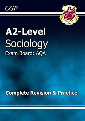 £3.29 • Buy A2-Level Sociology AQA Complete Revision & Practice (A... By CGP Books Paperback