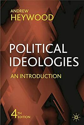 Political Ideologies: An Introduction By Heywood, Andrew Paperback Book The • 6.49£