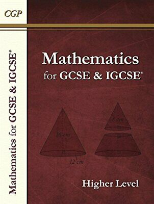 Maths For GCSE And IGCSE®, Higher Level/Extended (A*-G Resits) By CGP Books The • 5.88£