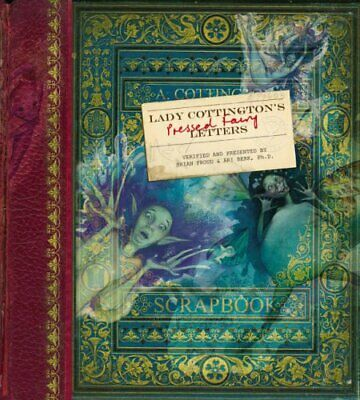 Lady Cottington's Pressed Fairy Letters By Ari Berk Hardback Book The Cheap Fast • 9.99£