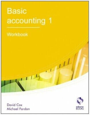 Basic Accounting 1: Workbook (AAT Accounting - L... By Fardon, Michael Paperback • 5.49£