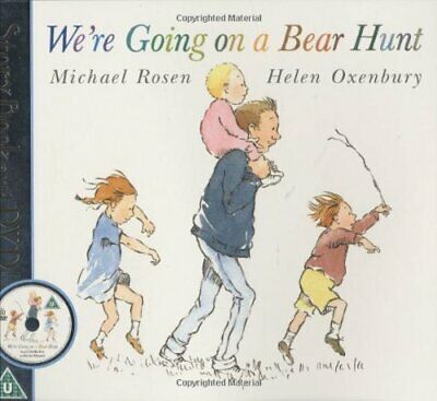 £4.49 • Buy We're Going On A Bear Hunt (Book & DVD) By Rosen, Michael Mixed Media Product