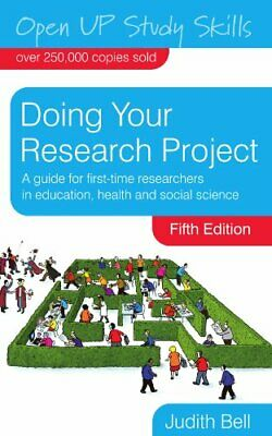 £7.49 • Buy Doing Your Research Project (Open Up Study Skills) By Bell, Judith Paperback The
