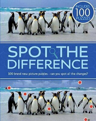 £5.49 • Buy Spot The Difference Paperback Book The Cheap Fast Free Post