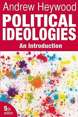 £17.99 • Buy Political Ideologies: An Introduction By Heywood, Andrew Book The Cheap Fast