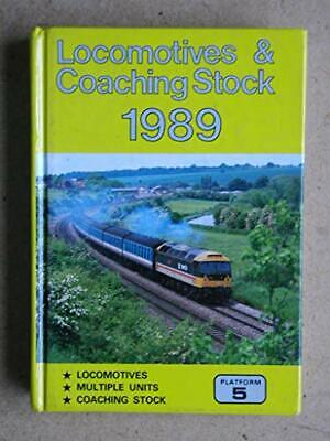 £6.49 • Buy Locomotives And Coaching Stock 1989 Hardback Book The Cheap Fast Free Post