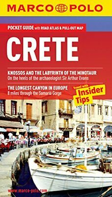 Crete Marco Polo Pocket Guide (Marco Polo Travel Guides) By Marco Polo Book The • 5.49£