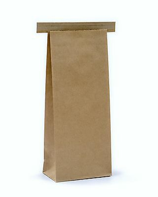 £10.95 • Buy Kraft Tin Tie 250g Poly Lined Bags Suitable For Food Packaging 10 25 50 150
