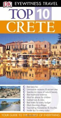 DK Eyewitness Top 10 Travel Guide: Crete By Gauldie, Robin Paperback Book The • 4.49£