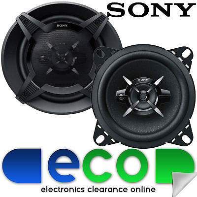 Renault Kangoo Express Sony 10cm 4  420 Watts 2 Way Dashboard Car Speakers • 24.99£