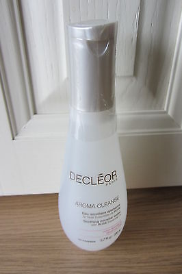 Decleor Aroma Cleanse Soothing Micellar Water With Rose Essential Oils 200ml New • 14.99£