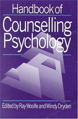 £4.99 • Buy Handbook Of Counselling Psychology Paperback Book The Cheap Fast Free Post