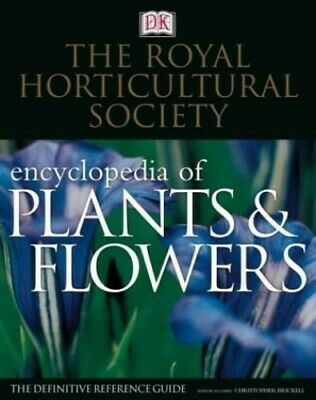 The Royal Horticultural Society New Encyclopedia Of Plants And... By DK Hardback • 7.49£