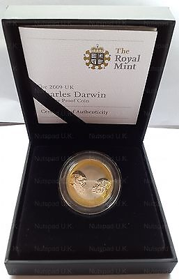 £179.99 • Buy 2009 Royal Mint  Charles Darwin  £2 Two Pound Coin Silver Proof Rare
