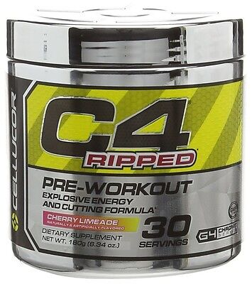 AU46.29 • Buy Cellucor C4 Ripped Pre Workout & Fat Burner. Energy & Fat Loss. Great Flavours