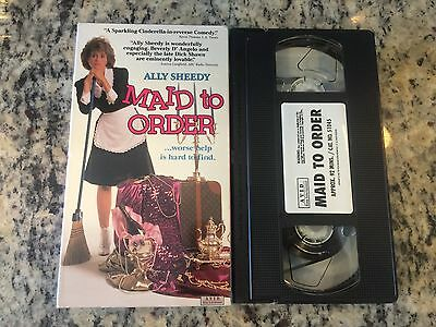 $3.66 • Buy Maid To Order Rare Vhs! Htf On Dvd Ally Sheedy Rich Brat Becomes Maid Oop Comedy