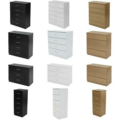 Chest Of Drawers Draws Bedroom Furniture Hallway Storage Boldon Range -2043 • 65£