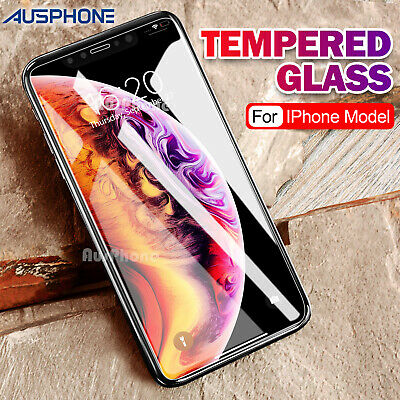 AU3.25 • Buy 2x Scratch Resist Tempered Glass Screen Protector For IPhone XS Max 8 7 Plus