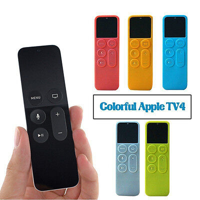 AU7.07 • Buy Remote Control Silicone Protective 4 Case Cover For Dust Cover Holder Apple TV