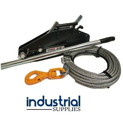 AU300 • Buy 4WD Hand Winch Off Road 800KG Lifting / 1250KG Pulling 4x4 Recovery Loadset