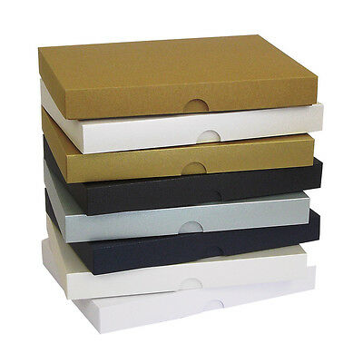 Pearlescent 5 X7  Greeting Card Boxes, Gift, Wedding. Choose Colour & Quantity  • 9.87£