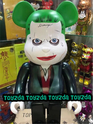 $1388.88 • Buy Medicom 2016 DC Comics Batman 1000% Joker Suicide Squad Bearbrick Be@rbrick 1pc