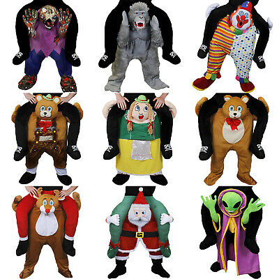 £19.99 • Buy Pick Me Up Ride On Costume Novelty Halloween Fancy Dress Piggy Back Funny Outfit