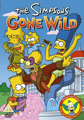 The Simpsons: The Simpsons Gone Wild DVD (2004) Cert PG FREE Shipping, Save £s • 2.45£