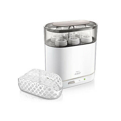 AU154.54 • Buy Philips AVENT 4-in-1 Electric Steam Clean Baby Bottle Sterilizer Dishwasher Safe