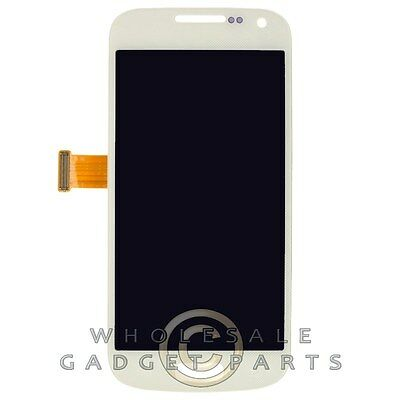 LCD Digitizer For Samsung Galaxy S4 Mini White Front Window Panel • 26.91£