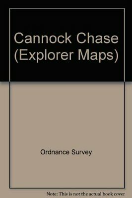 Cannock Chase (Explorer Maps) By Ordnance Survey Sheet Map, Folded Book The • 7.49£