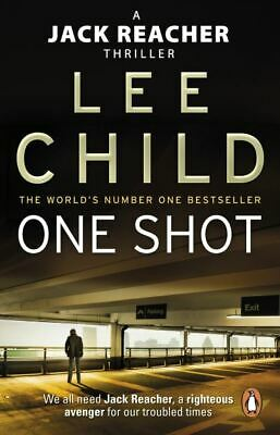 A Jack Reacher Thriller: One Shot By Lee Child (Paperback) Fast And FREE P & P • 3.97£