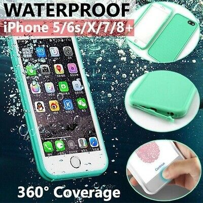 AU7.11 • Buy Waterproof Shockproof Thin Tough Case Cover For Apple IPhone 11 8 7 Plus Xs 6 SE