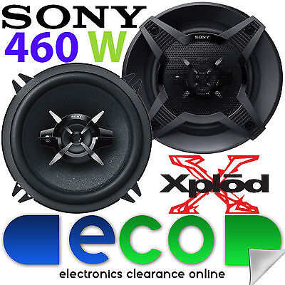 Renault Megane MK2 SONY 13cm 5.25 Inch 460 Watts 2 Way Front Door Car Speakers • 29.99£
