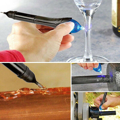 $ CDN1.33 • Buy Pro 5 Second Glass Welding Compound Glue UV Light Quick Fix Liquid Repair Tools