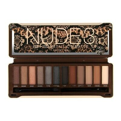 AU16.95 • Buy BYS Nude 3 Eyeshadow Palette 12 Colours