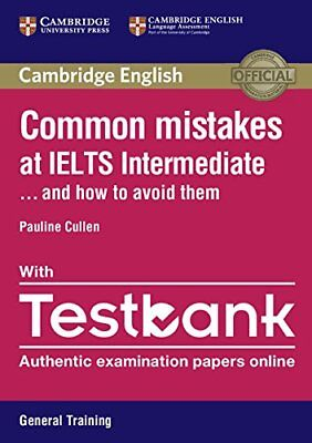 Common Mistakes At IELTS Intermediate Paperback With IELTS General Training Test • 9.79£