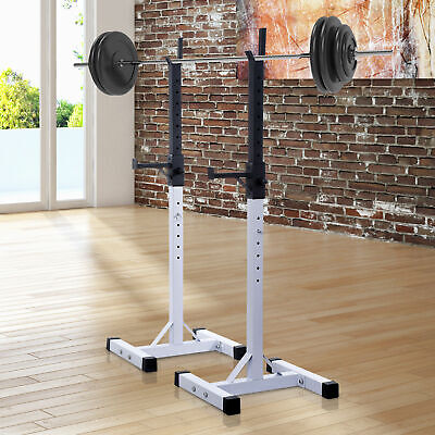 $ CDN199.99 • Buy Squat Rack Weight Liftting Stand Fitness Home GYM Weight Strength Exercise