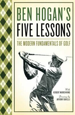 £18.99 • Buy Five Lessons: The Modern Fundamentals Of Golf By Hogan, Ben Book The Cheap Fast