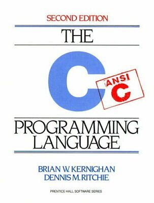 The C Programming Language (2nd Edition) By Ritchie, Dennis Paperback Book The • 27.74£