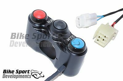 AU457.26 • Buy Yamaha R1  2009_2014, 3 Button Right Handlebar Switch For Race And Road Bikes