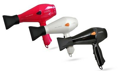 AU39.95 • Buy Cabello PRO 3600 - Professional Hair Dryer -  Black / White / Red