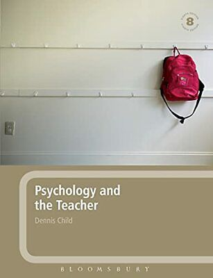 £4.99 • Buy Psychology And The Teacher By Child, Dennis Paperback Book The Cheap Fast Free