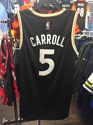 $ CDN77.99 • Buy NBA Toronto Raptors DeMarre Carroll Adidas Jersey Black Gold Alternate OVO XXL