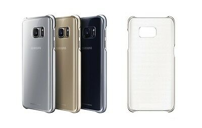 $ CDN3.79 • Buy Samsung Galaxy S7 Edge Slim Crystal Clear Hardback Plastic Case Cover