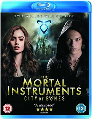 The Mortal Instruments: City Of Bones [Blu-ray] - DVD  XKVG The Cheap Fast Free • 3.49£