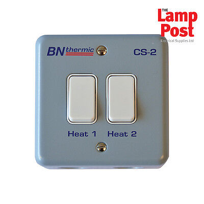 BN Thermic CS-2 - Control Switch For Two Lamp Halogen Heater • 54.99£