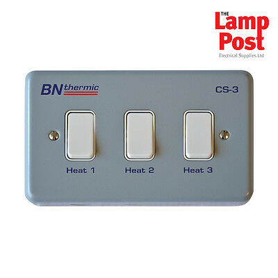 BN Thermic CS-3 - Control Switch For Three Lamp Halogen Heater • 68.99£
