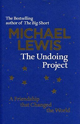 £3.99 • Buy The Undoing Project: A Friendship That Changed The World By Lewis, Michael Book